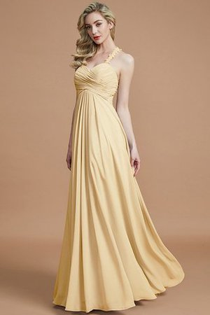 Natural Waist Floor Length Sweetheart Ruched Princess Bridesmaid Dress - 17