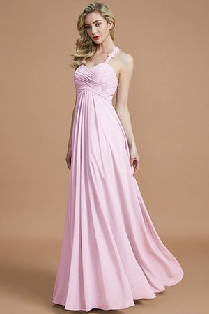 Natural Waist Floor Length Sweetheart Ruched Princess Bridesmaid Dress - 28