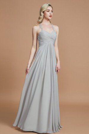 Natural Waist Floor Length Sweetheart Ruched Princess Bridesmaid Dress - 4