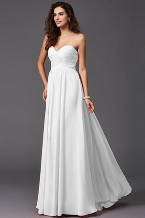 A-Line Sleeveless Chiffon Empire Waist Bridesmaid Dress - 29