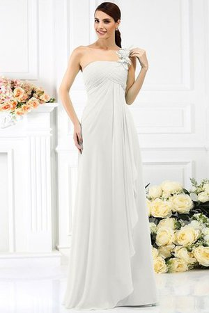 Princess Sleeveless Pleated Zipper Up Long Bridesmaid Dress - 16