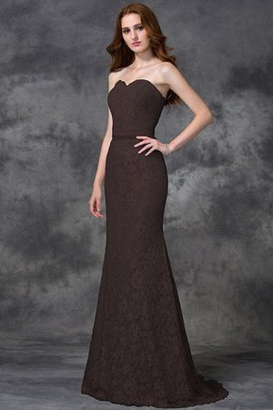 Appliques Zipper Up Sleeveless Floor Length Natural Waist Bridesmaid Dress - 7
