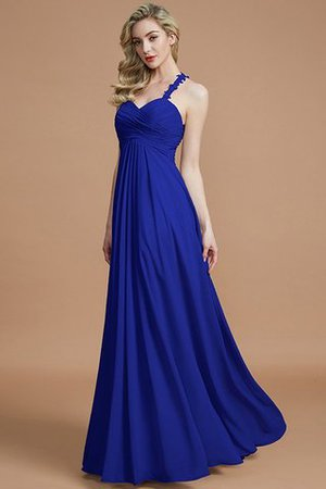 Natural Waist Floor Length Sweetheart Ruched Princess Bridesmaid Dress - 31