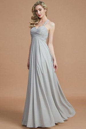 Natural Waist Floor Length Sweetheart Ruched Princess Bridesmaid Dress - 33