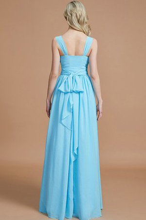 Sleeveless Natural Waist A-Line V-Neck Bridesmaid Dress - 36