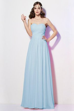 Pleated Zipper Up Empire Waist A-Line Bridesmaid Dress - 18