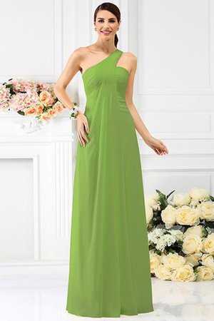 Zipper Up Long Floor Length A-Line Bridesmaid Dress - 14