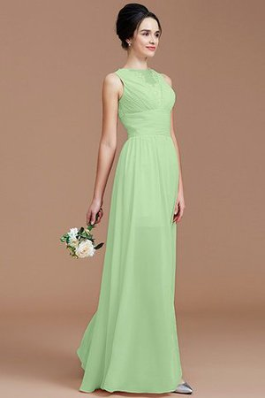 Ruched Zipper Up Natural Waist Jewel Sleeveless Bridesmaid Dress - 32