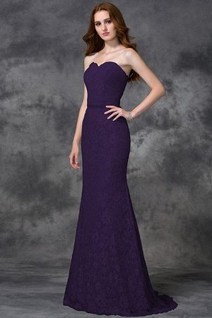 Appliques Zipper Up Sleeveless Floor Length Natural Waist Bridesmaid Dress - 13