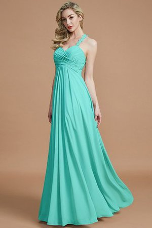 Natural Waist Floor Length Sweetheart Ruched Princess Bridesmaid Dress - 21