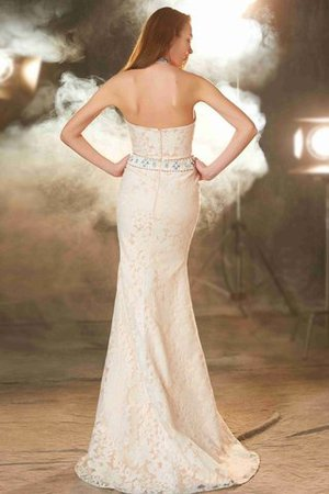 Sheath Floor Length Natural Waist Sleeveless Zipper Up Prom Dress - 2