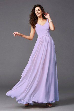 Sashes Floor Length Spaghetti Straps A-Line Bridesmaid Dress - 9