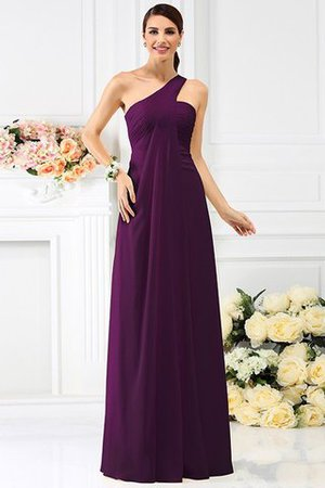 Zipper Up Long Floor Length A-Line Bridesmaid Dress - 13