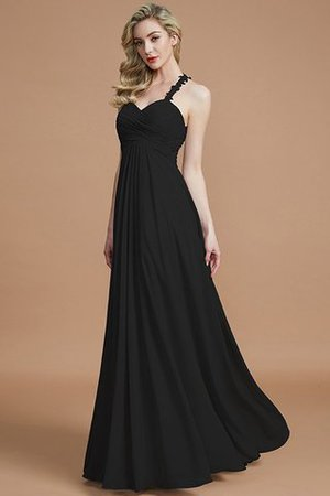 Natural Waist Floor Length Sweetheart Ruched Princess Bridesmaid Dress - 8