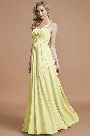 Natural Waist Floor Length Sweetheart Ruched Princess Bridesmaid Dress - 14