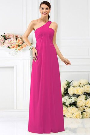 Zipper Up Long Floor Length A-Line Bridesmaid Dress - 11