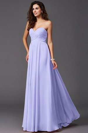 A-Line Sleeveless Chiffon Empire Waist Bridesmaid Dress - 16