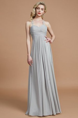 Natural Waist Floor Length Sweetheart Ruched Princess Bridesmaid Dress - 3