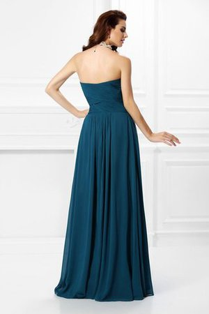 A-Line Zipper Up Long Floor Length Bridesmaid Dress - 30