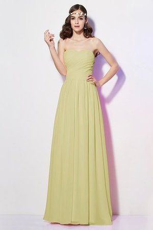 Pleated Zipper Up Empire Waist A-Line Bridesmaid Dress - 7