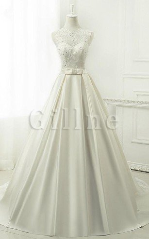 Chiffon 3/4 Length Sleeves Tea Length Sequined Lace Fabric Wedding Dress