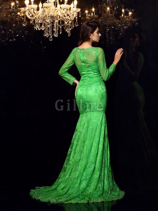 Sleeveless High Neck Elastic Woven Satin Mermaid Court Train Prom Dress