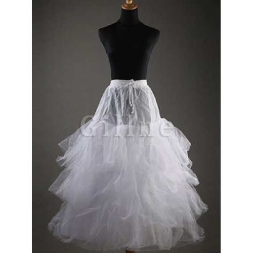 Beautiful Tiered Tea-Length Ball Gown Petticoats