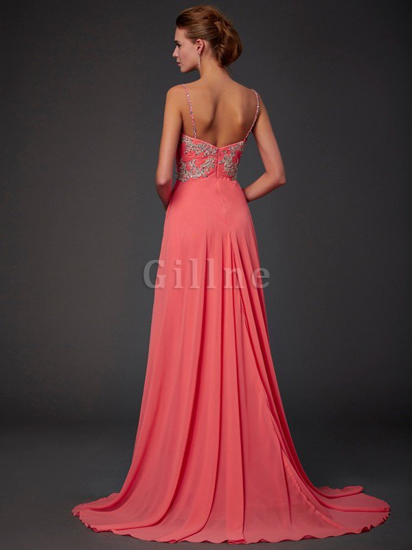 Lace Natural Waist Chiffon Backless Short Prom Dress