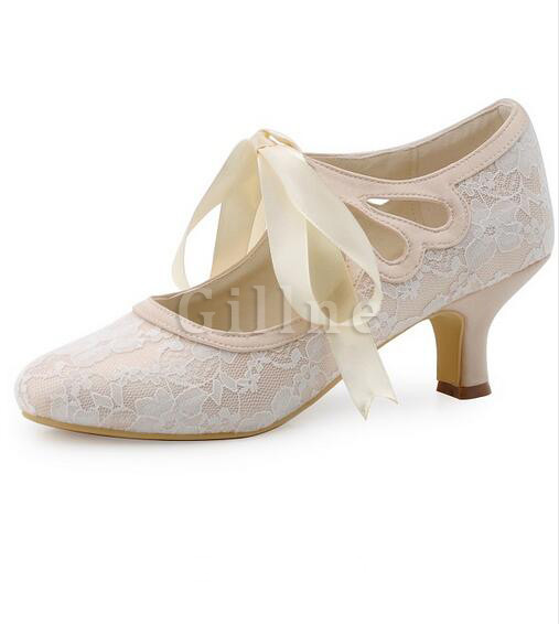 Elegant Actual Heel Height 1.97 Inch Summer Wedding Shoe