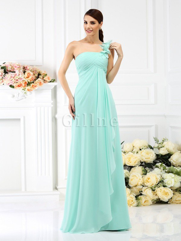Princess Sleeveless Pleated Zipper Up Long Bridesmaid Dress
