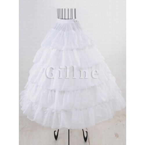 Amazing Tiered Ankle Length A Line | Princess Crinolines